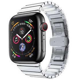Armband RSF Butterfly Apple Watch 5 (44mm) - Silver