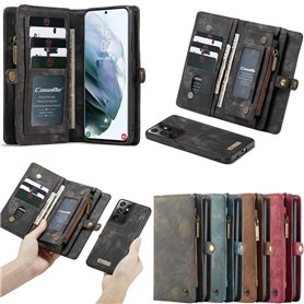 Multi-lommebok CaseMe 11-kort Samsung Galaxy S21 Ultra