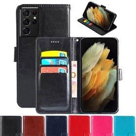 Mobilplånbok 3-kort Samsung Galaxy S21 Ultra