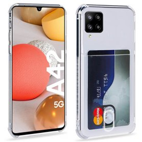 Silicone Case with slot Samsung Galaxy A42