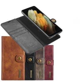 Mobilplånbok DG-Ming 2i1 Samsung Galaxy S21 Ultra