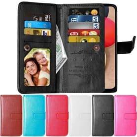 Dubbelflip Flexi 9-kort Samsung Galaxy A02s