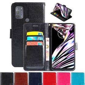 Phonecase wallet 3-card Motorola Moto G50