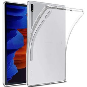 Silicone case transparent Samsung Galaxy Tab S7 Plus