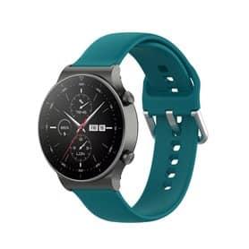 Silikon armbånd Huawei Watch GT2 Pro - Petrol