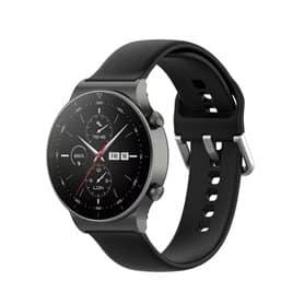 Silikon armbånd Huawei Watch GT2 Pro - Svart