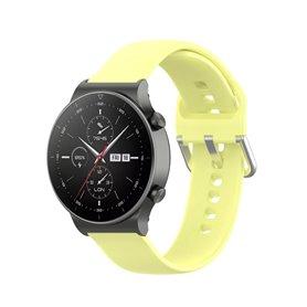 Silicone Bracelet Huawei Watch GT2 Pro - Yellow