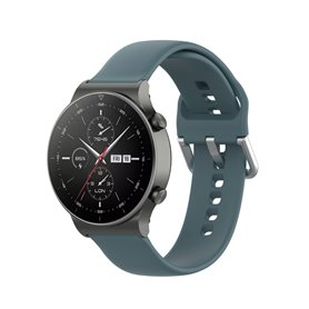 Silikon armbånd Huawei Watch GT2 Pro - Grønnblå