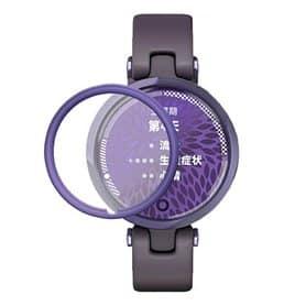 3D Curved Skærmbeskyttelse hærdet glas Garmin Lily - Lilla