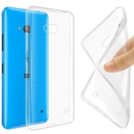 Microsoft Lumia 640 -silikonin on oltava läpinäkyvää