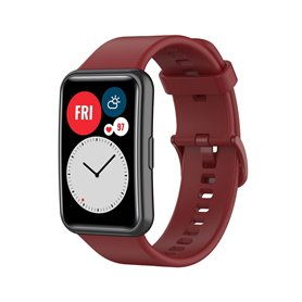 Sport armbånd Huawei Watch Fit - Vinrød