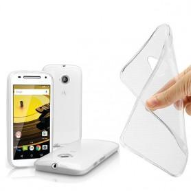 Motorola Moto E2 silikon må være gjennomsiktig