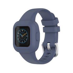 Sport Silikon Armband Garmin Vivofit jr. 3 - Blaugrau