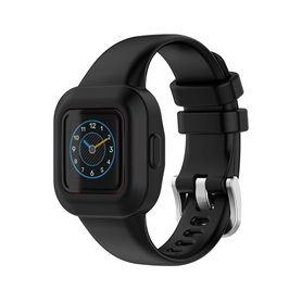 Sport Silikon Armband Garmin Vivofit jr. 3 - Schwarz