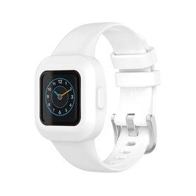 Sport Silikon Armband Garmin Vivofit jr. 3 - Weiß