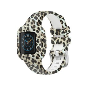 Patterned Sport Bracelet Garmin Vivofit jr. 3 - Leopard