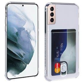 Silikon skal med kortplats Samsung Galaxy S21