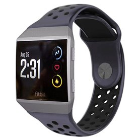 EBN Sport armbånd Fitbit Ionic - Blå/svart