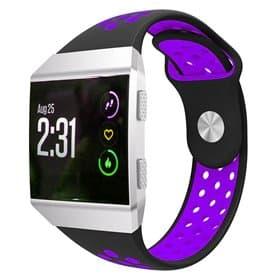 EBN Sport Armband Fitbit Ionic - Svart/lila