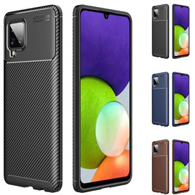 Carbon silicone shell Samsung Galaxy A22 4G