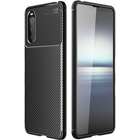 Carbon silicone shell Sony Xperia 10 III
