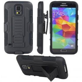 Iskunkestävä kuori kotelolla Galaxy S5 Mini