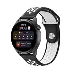 EBN Sport Armband Huawei Watch 3 - Schwarz/Weiß