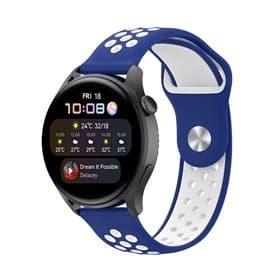 EBN Sport Armband Huawei Watch 3 - Blau/Weiß