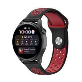 EBN Sport Armband Huawei Watch 3 - Schwarz/Rot