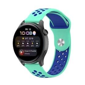 EBN Sport Armband Huawei Watch 3 - Minze/blau