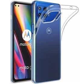 Silikondeksel gjenomsiktig Motorola Moto G 5G Plus