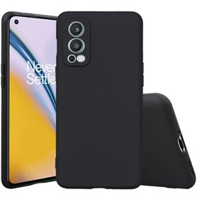 Silicone case OnePlus Nord 2 5G - Black