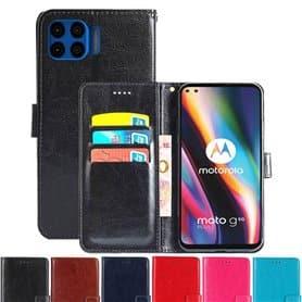 Lommebokdeksel 3-kort Motorola Moto G 5G Pro