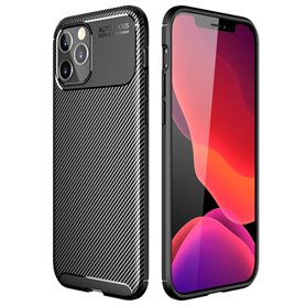 """Carbon silicone case Apple iPhone 12 Pro (6.1"""")"""