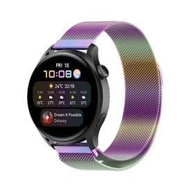 Milanese Armband Huawei Watch 3 - Rainbow