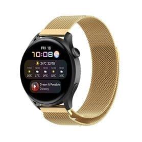 Milanese Armband Huawei Watch 3 - Gold