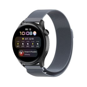 Milanese Armband Huawei Watch 3 - Grau