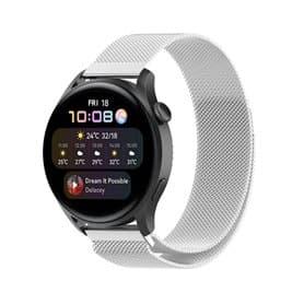 Milanese Armband Huawei Watch 3 - Silber