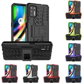 Shockproof case with stand Motorola Moto G9 Plus