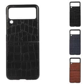 Crocodile läder skal Samsung Galaxy Z Flip 3