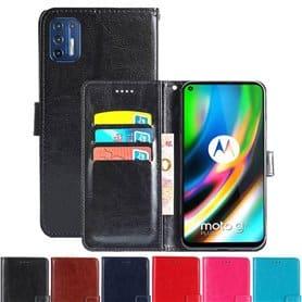 Phonecase wallet 3-card Motorola Moto G9 Plus