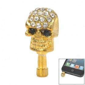Diamond Skull Dust Plug