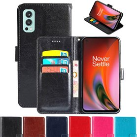 Phonecase wallet 3-card OnePlus Nord 2 5G