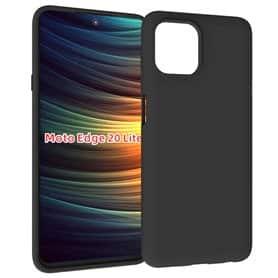 Silicone case Motorola Edge 20 Lite - Black