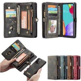 CaseMe Portemonnaie Hülle 11-Karten Samsung Galaxy A52 5G