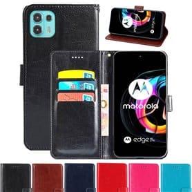 Lommebokdeksel 3-kort Motorola Edge 20 Lite