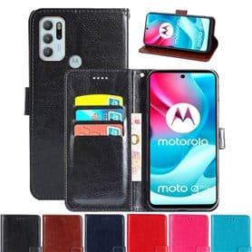 Handyhülle 3-Karten Motorola Moto G60S