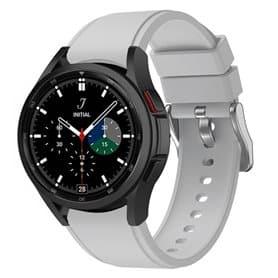 Sport armbånd till Samsung Galaxy Watch 4 Classic (42/46mm) - Lysegrå