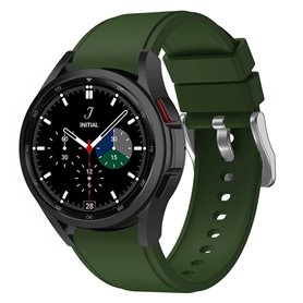 Silikonband Samsung Galaxy Watch 4 Classic (42/46mm) - Dunkelgrün