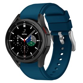 Silikonband Samsung Galaxy Watch 4 Classic (42/46mm) - Blau